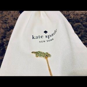 NWT Kate Spade Swamped Alligator Necklace